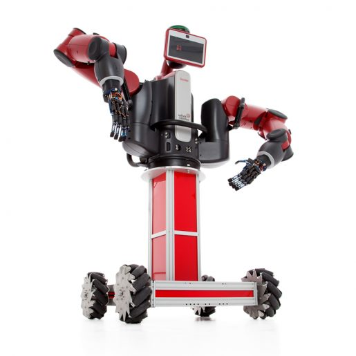 baxter robot mobile base with baxter upwards view
