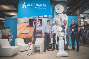 Meeting Pepper with Aldebaran