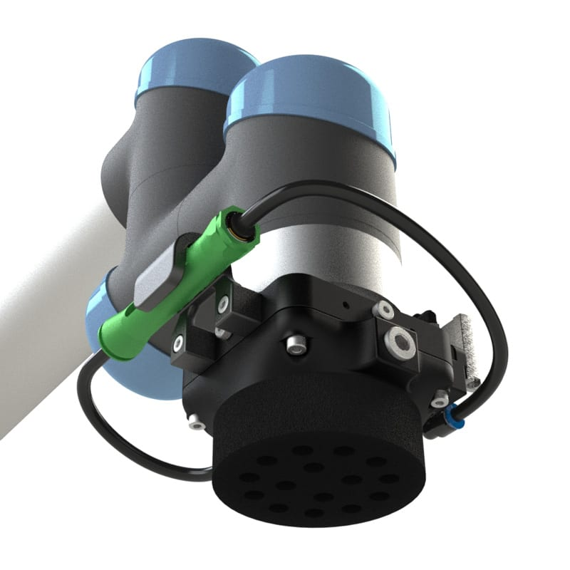 Active Foam Gripper on Universal Arm