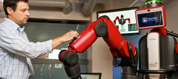 Baxter Research robot human interaction