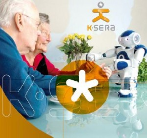 KSERA helping Nao to interact with elderly people