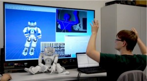 Animating Nao using CAVE