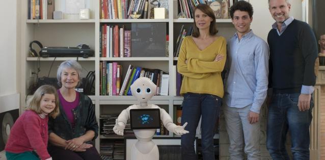 aldebaran softbank pepper robot