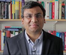 Professor Subramanian Ramamoorthy headshot